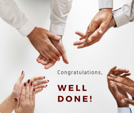 congratulations online course quiz completed