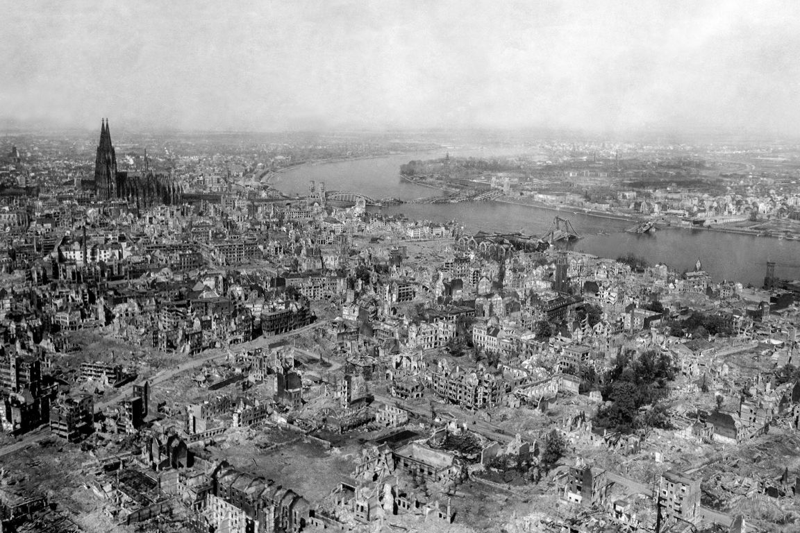 Cologne after the end of the Second World War